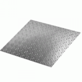 Лист алюминиевый рифлёный 1,5х1500х3000 ВД1АМ Квинтет