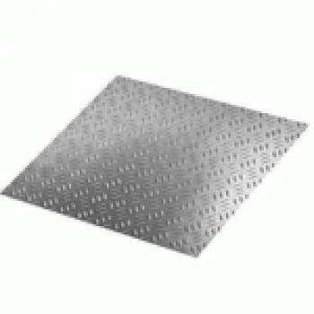 Лист алюминиевый рифлёный 1,5х1500х3000 ВД1АН Квинтет
