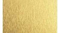 Анодированный алюминиевый лист 0,5х1250х2500 шлифованный золотой