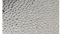 Анодированный алюминиевый лист 0,3х1250х2500 декорированный серебро