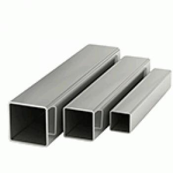 Труба нержавеющая квадратная 10х10х1х6000 мм AISI 304 шлифованная