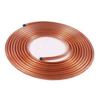 Труба медная для кондиционеров 1/2' 12,7 ASTM В220 L=15000 мм Сербия