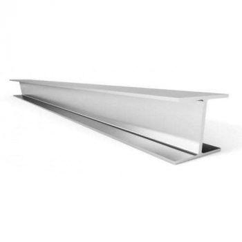 Алюминиевый двутавр 25х8х25х1,5 Серебро (длина - 3 м)