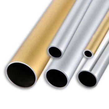 Алюминиевая труба 10х1 Серебро (длина - 3 м)