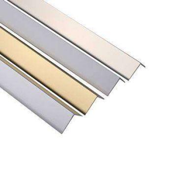 Алюминиевый уголок 40х40х2 Серебро (длина: 1-3 м)